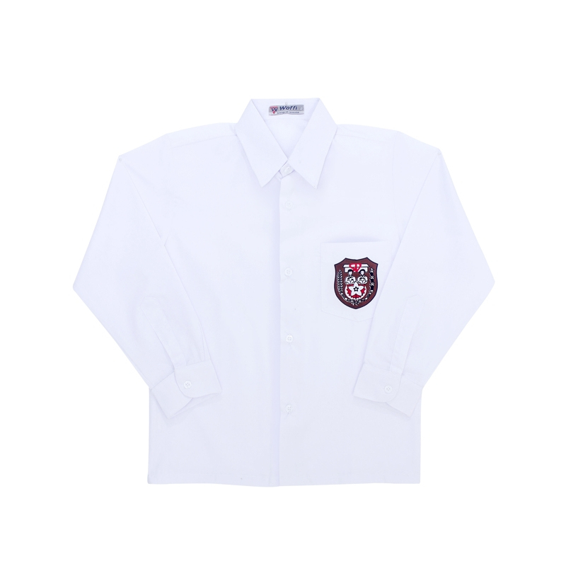 Baju Seragam SD Panjang Badge Special Edition